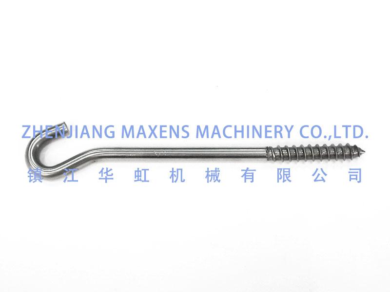 #210025SS 螺纹钩φ7x160mm(不锈钢)