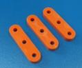#200020 Ø5欧式塑料绳调节块橙色